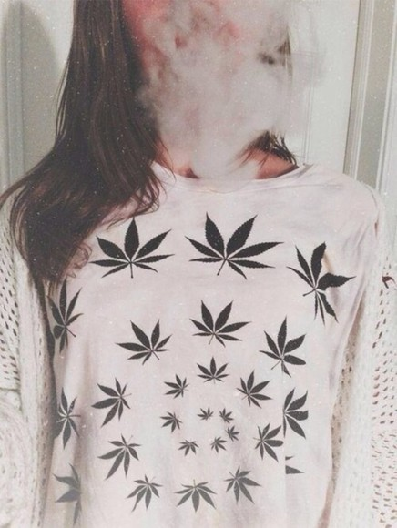 grass sweater weed weed shirt white sweater ganja dope marijuana white cool shirt cute white green sweater shirt weed dope