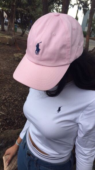 hat ralph lauren polo shirt and hat y shirt polo shirt urban pastel pink ralph lauren shirt polo white long sleeve long sleeves long sleeve polo white polo white long sleeve polo white shirt