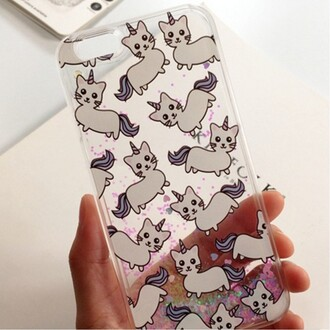 phone cover unicorn fashion transparent cool teenagers kawaii boogzel cats