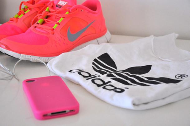 Adidas Neon t Shirts Shirt Fitness Neon Nike