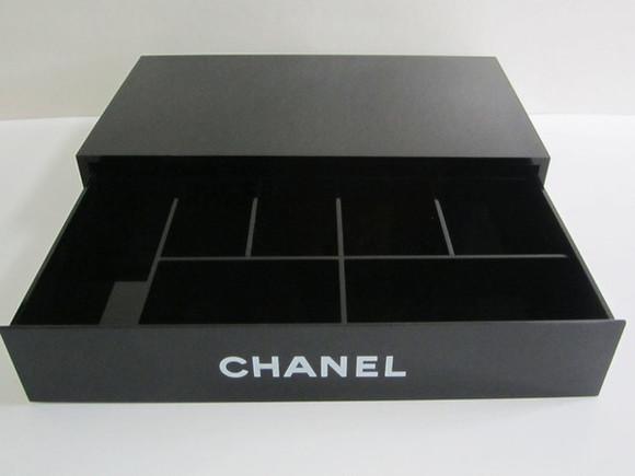 chanel make-up box makeup bag make up case case Jewerly