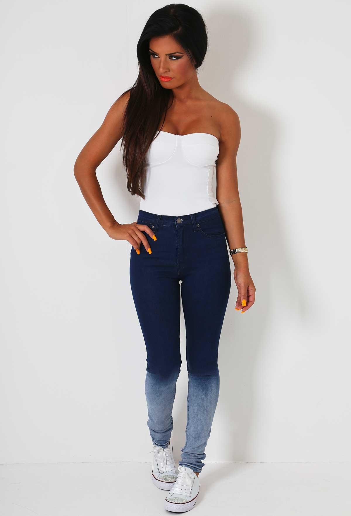 Jeanette Denim Fade Jeans