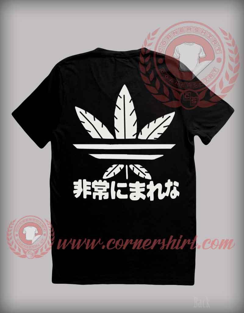 Japanese Marijuana T Shirt Custom Design T Shirts On Sale