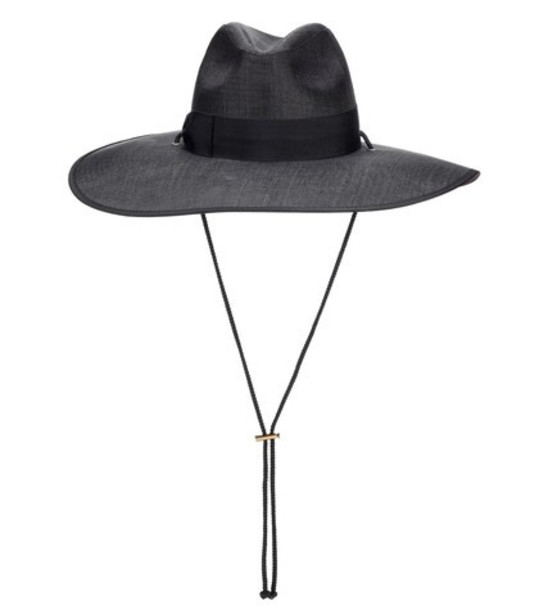Gucci Wide-brimmed hat in black