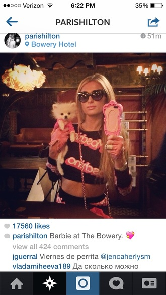 phone cover paris hilton