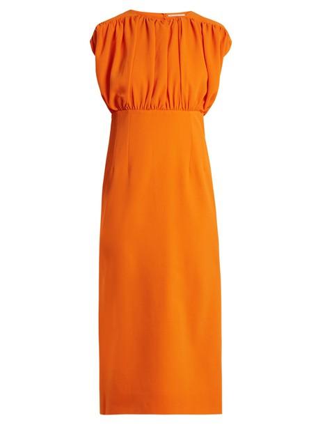 EMILIA WICKSTEAD dress orange