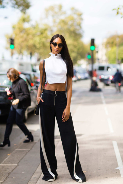 Pants: fashion week street style, fashion week 2016, fashion week ...