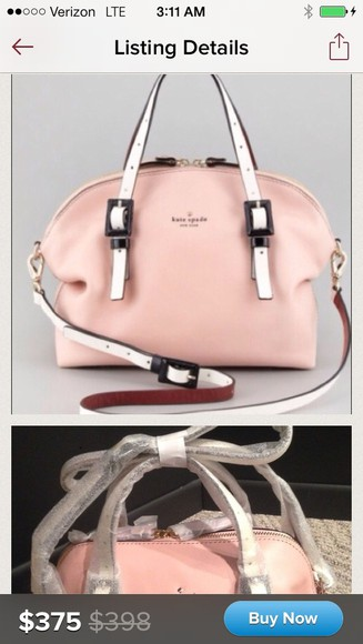 bag light pink kate spade