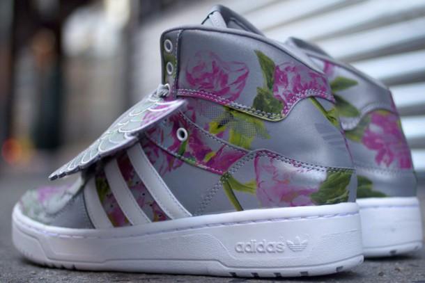 147712a4900f shoes jeremy scott x adidas js wings floral reflective adidas jeremy scott  jeremy scott