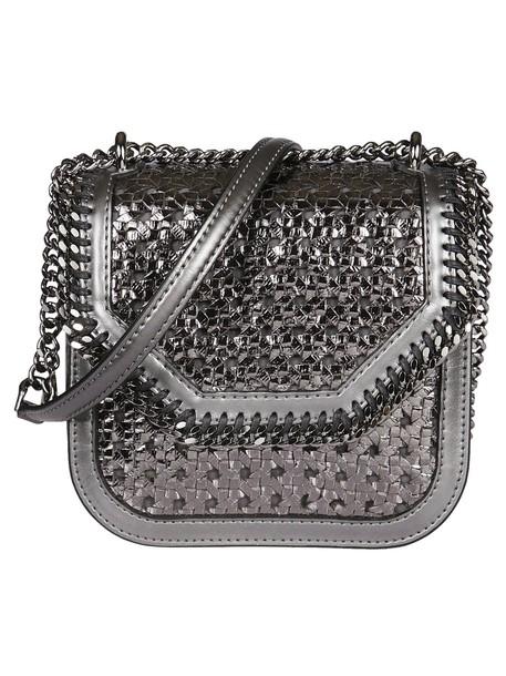 bag shoulder bag silver