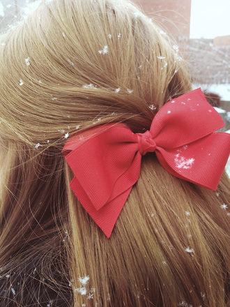 hair accessory bows cute holiday season
