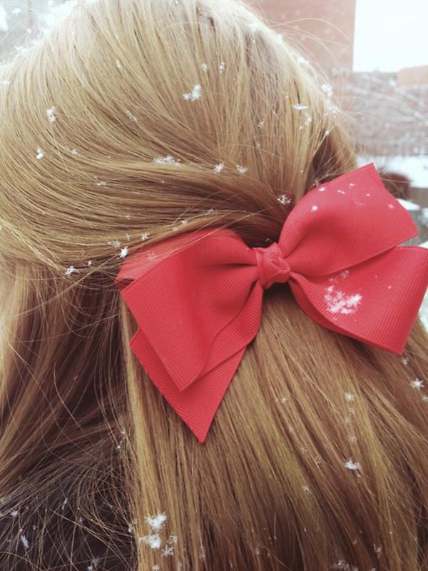 Заколки бантики для волос