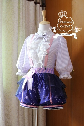romper kawaii lolita gothic lolita outfit cute pink purple pastel purple and blue ruffle bloomers pastel goth pastel pink white purple and blue bathing suit overalls cute outfits