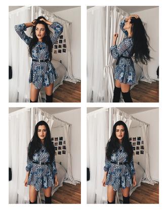 blogger ilirida krasniqi dress belt