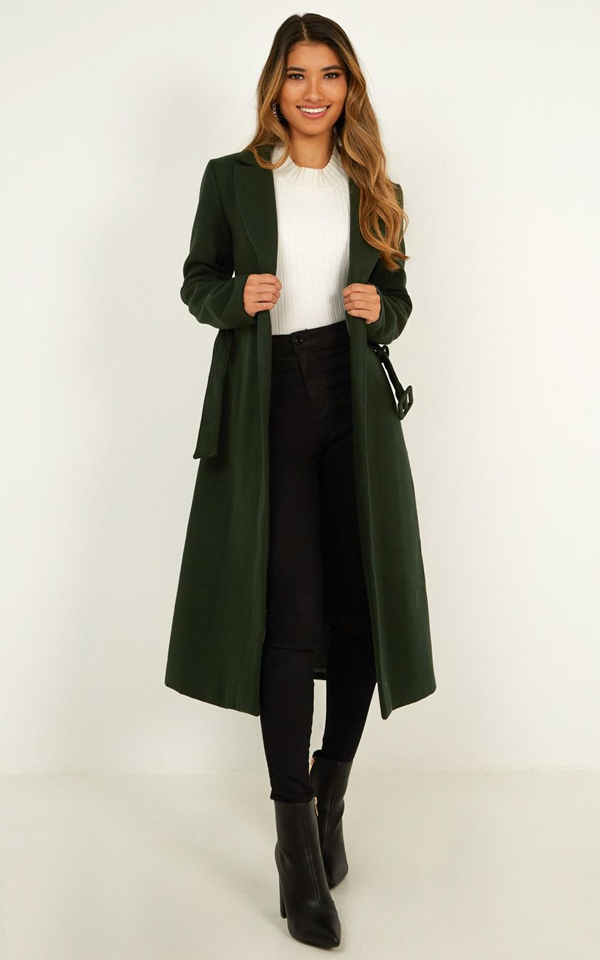 Green With Envy Jacket In Forest Green