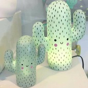 home accessory,cactus,cactus lam,pink cactus,green,mint,pastel,pastel mint,pink,pastel pink,light pink,kawaii,kawaii pastel,cute,light,lights,lamp,home decor,room decorations