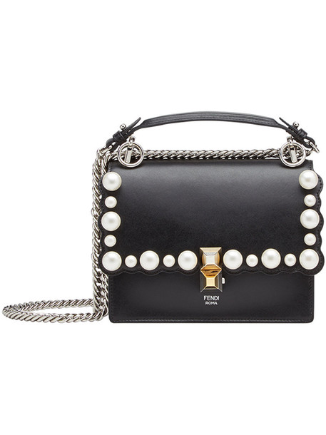 Fendi women bag leather black