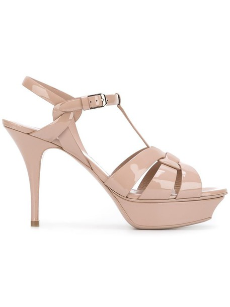 women classic sandals leather purple pink shoes