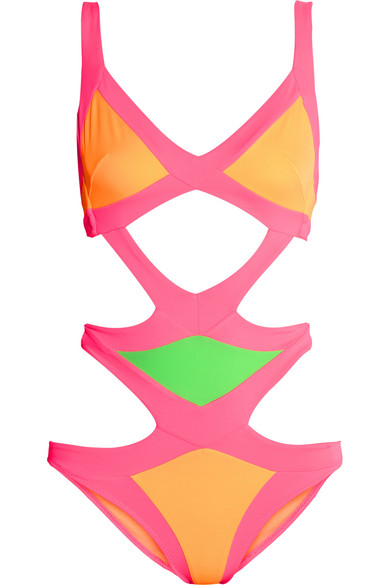 Agent Provocateur|Mazzy swimsuit|NET-A-PORTER.COM