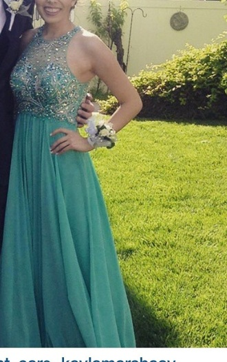 dress blue prom prom dress long gown sparkle sparkle dress