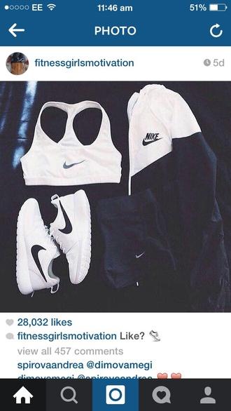 jacket nike nike jacket black and white sportswear