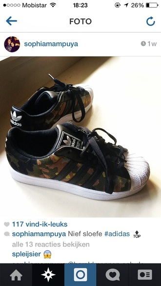 shoes sneakers stule adidas adidas shoes adidas superstars superstar army camo camo print leather shoes adidas original army print jewels jumpsuit