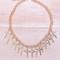 Sirenlondon — cross it off necklace