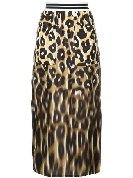 skirt women brown