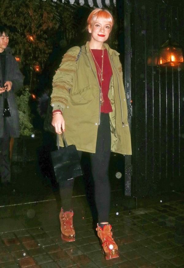 coat lily allen