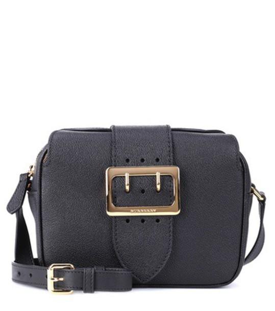 Burberry bag shoulder bag leather black