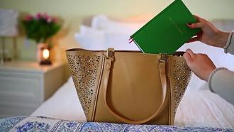 bag brown bag boho chic summer bag