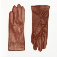 Rachel Comey Travel Gloves in Cognac | The Dreslyn