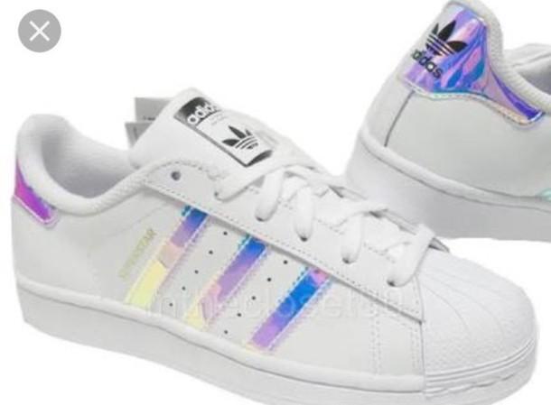 promo code 7310d 50f55 Adidas Superstar Hologram Iridescent limited edition AQ6278 ...