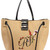 Large Viv' Embroidered Tote Bag
