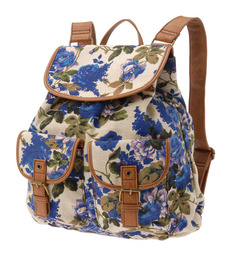 KIMCHI BLUE FLORAL BACKPACK on The Hunt