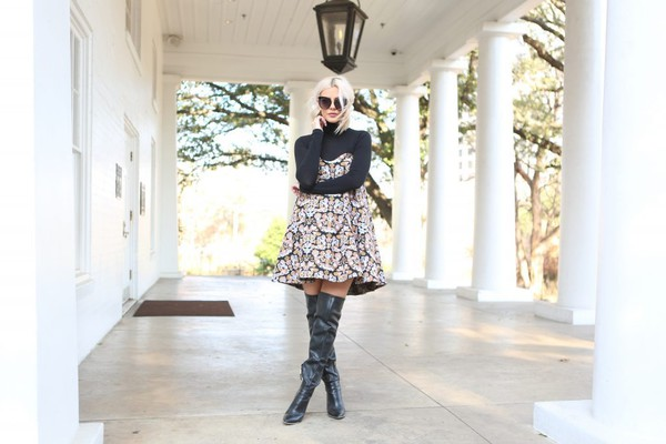 8f13691b7c8 the courtney kerr blogger dress shoes sunglasses jewels over the knee boots  boots.