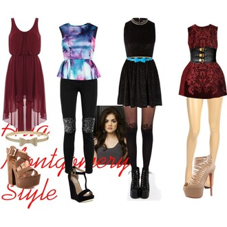 aria montgomery pretty little liars dress top
