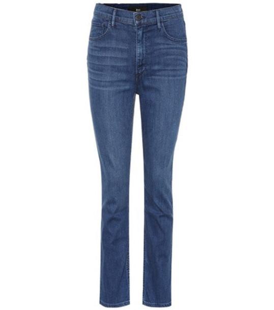 3x1 W4 Colette Slim Crop jeans in blue
