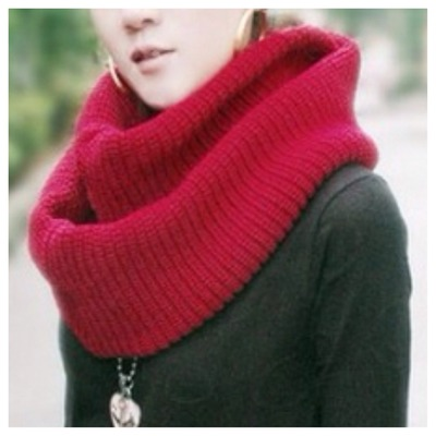 Knit infinity scarf · doublelw · online store powered by storenvy
