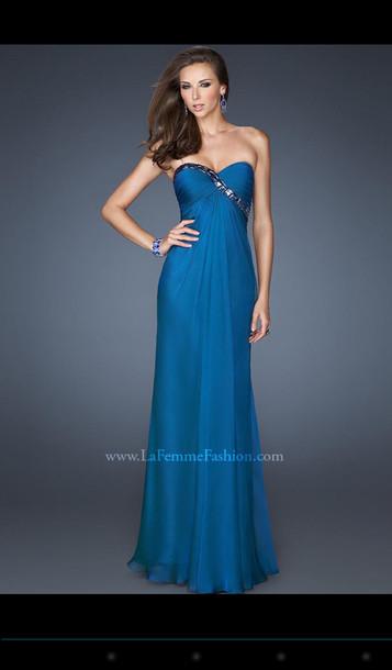 dress blue dress prom dress long prom dress