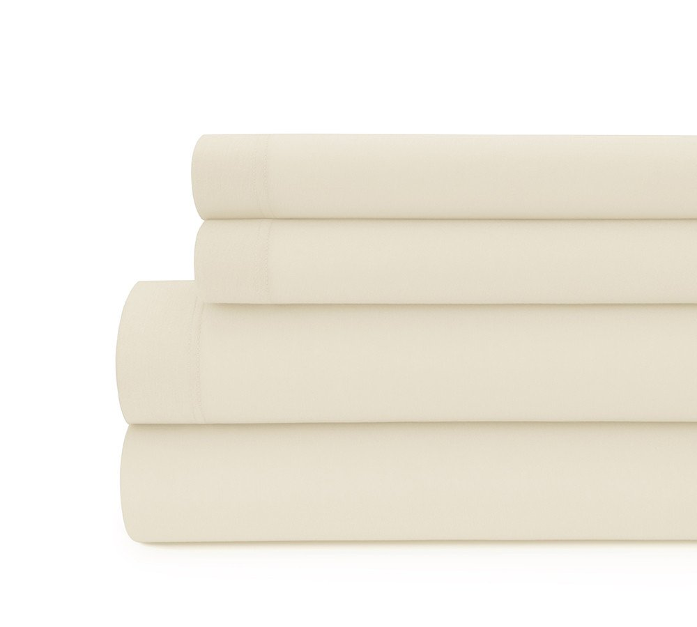 Solid Modal Jersey Sheet Set in Papyrus