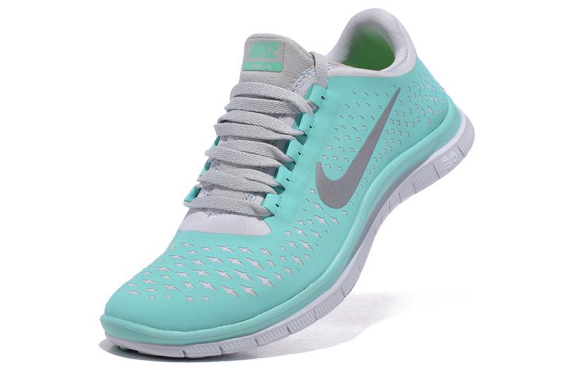Nike Free Run    Tiffany Blue Shoes