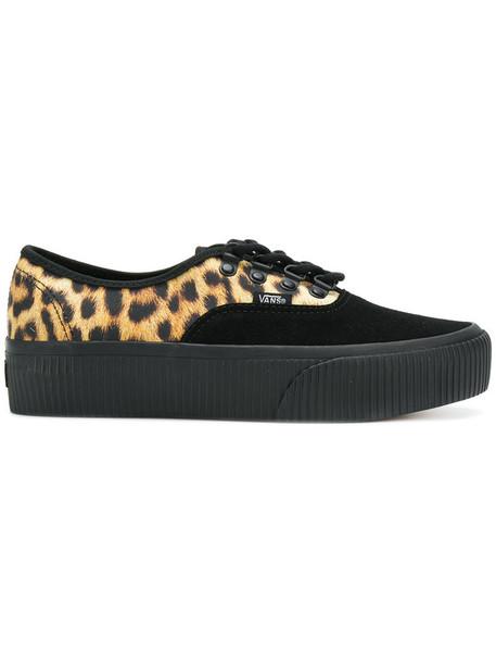 VANS old school women shoes cotton suede black