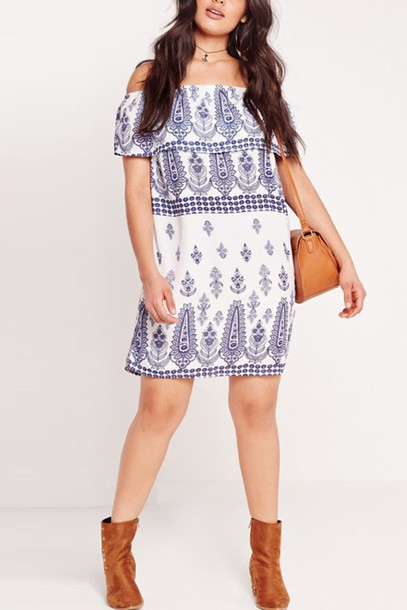 Dress, $49 at maykool.com - Wheretoget