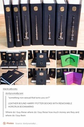 home accessory,book,harry potter,leather,black