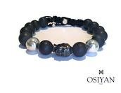 jewels,buddha,black,bracelets,osiyan paris,osiyan