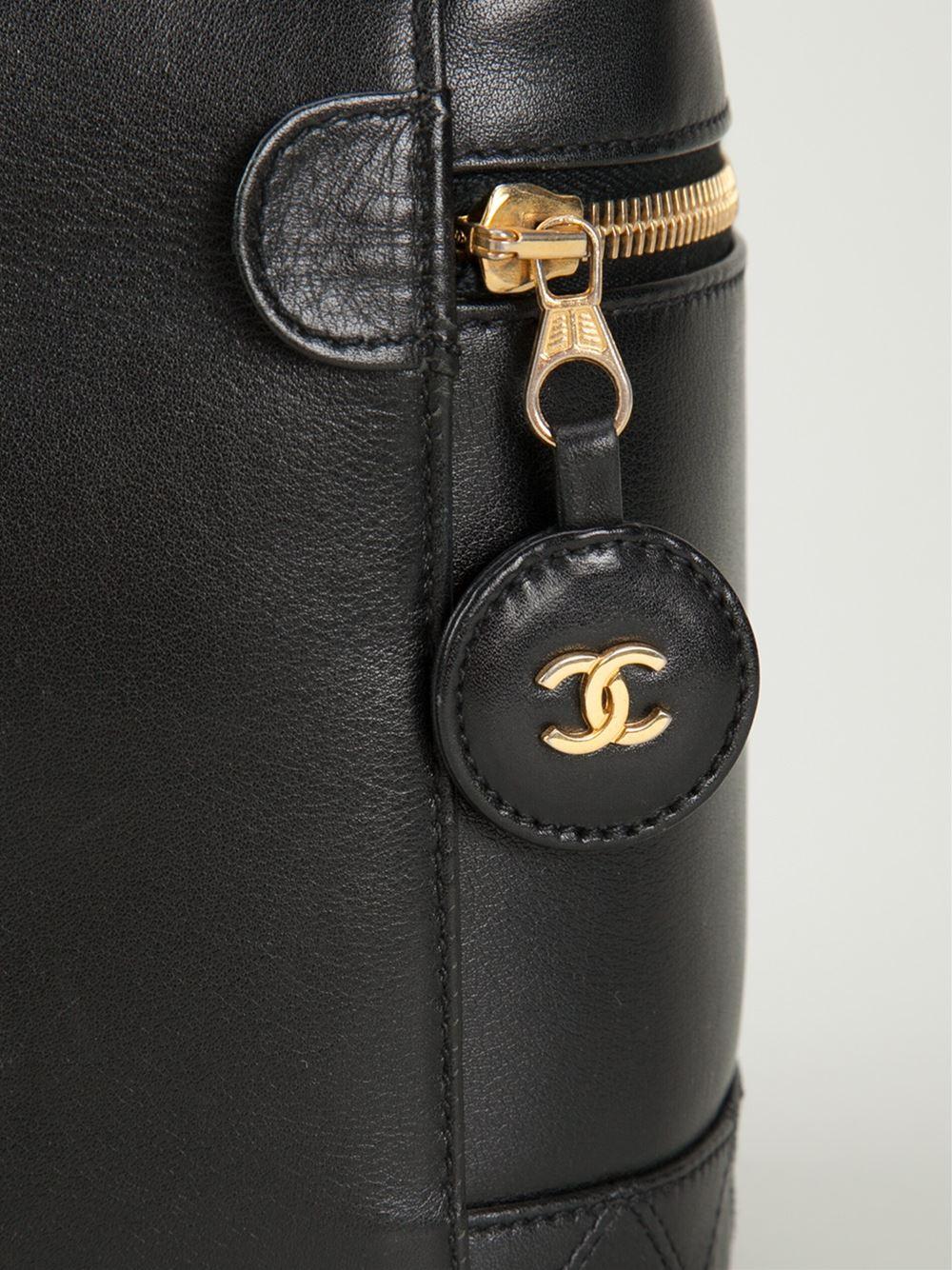 Chanel Vintage Vertical Cosmetic Bag - Bella Bag - Farfetch.com