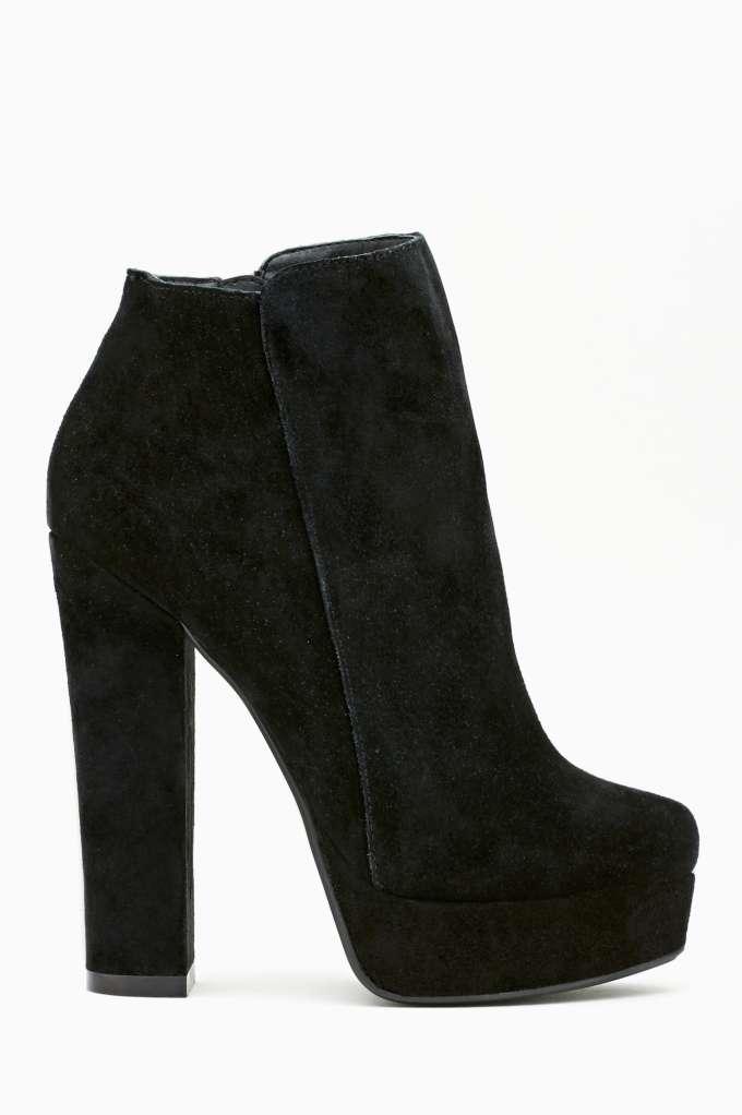 Shoe Cult Mischief Bootie - Black  in  Shoes Booties at Nasty Gal