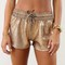 Bronze earth shorts | sabo skirt