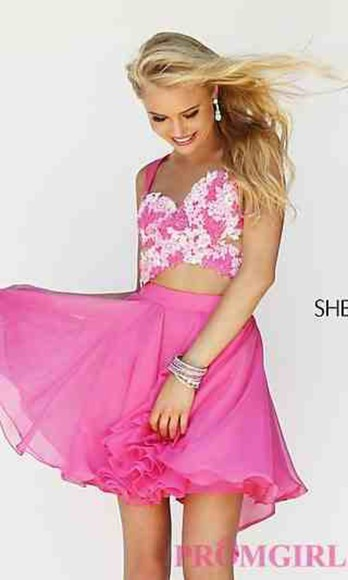 prom dress sherri hill sherri hill dress sherri hill 2014 homecoming dress pink dress evening/homecoming dresses dresses on sale